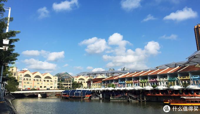 克拉码头,当天的天气很好