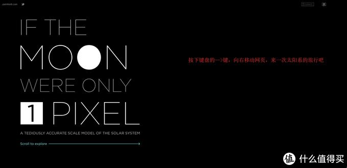 网页首页:假如1颗像素代表一个月球