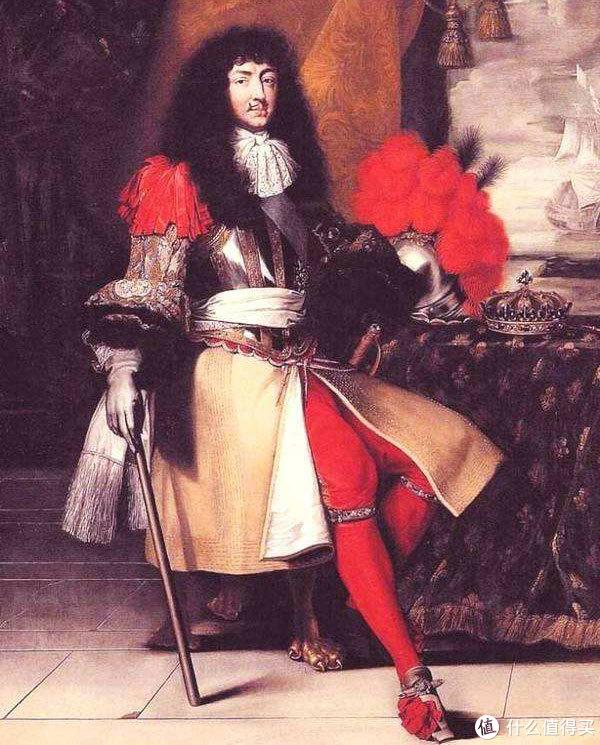 穿彩袜的路易十四