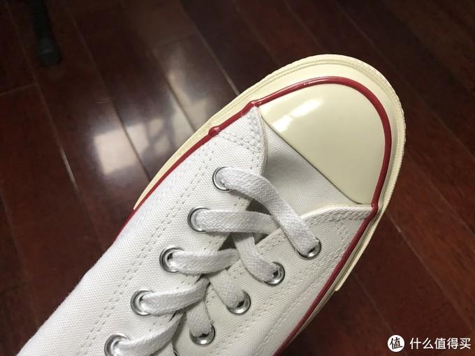 经典百搭的小白鞋——匡威1970s三星标低帮帆布鞋