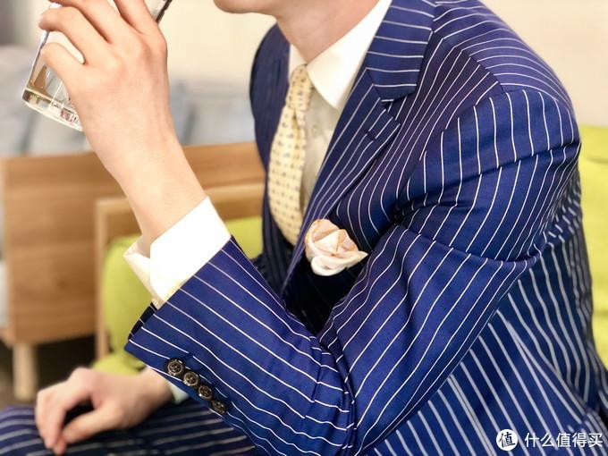 世家宝140支伦敦人条纹套装