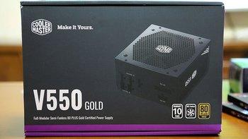 酷冷至尊V550金牌电源包装外观(主体|包装|风格|型号)