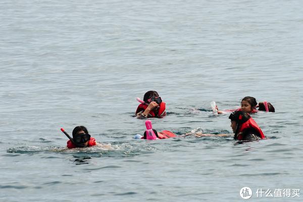 昨天训练浮潜的成果,哈哈哈哈~