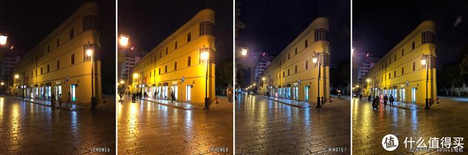 note7的抗眩光很好,更广的广角也更容易收进建筑,就是自带夜景模式天空噪点感人,用google相机夜景模式纯净了很多