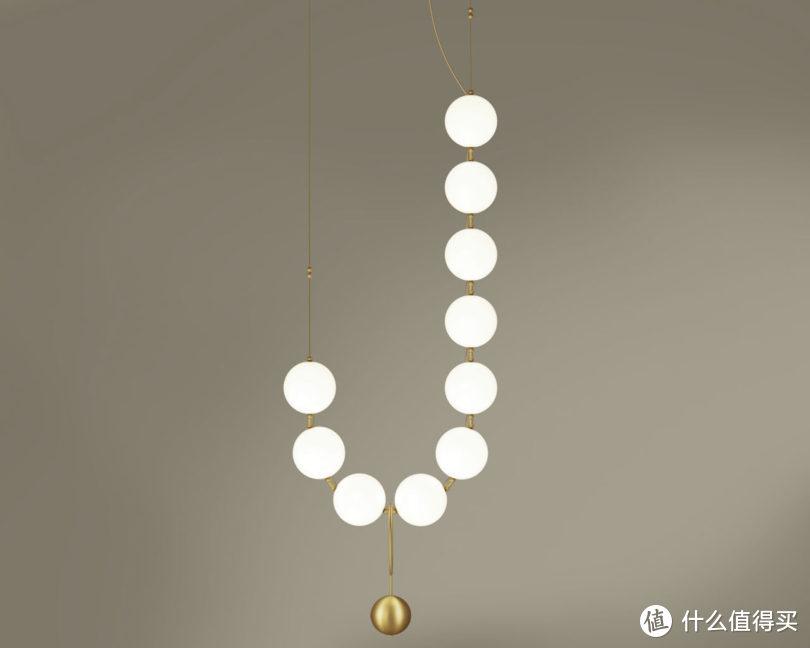 协力设计 是灯具?还是珍珠项链?——致敬Coco香奈儿女士