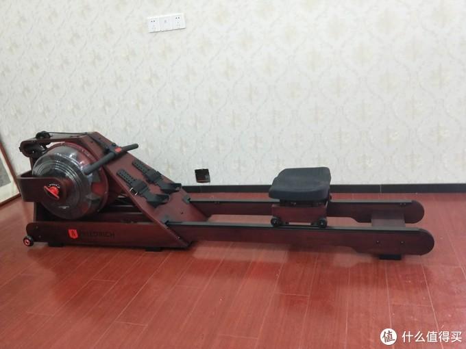 从一台红木划船机,开启我的减肥之路!