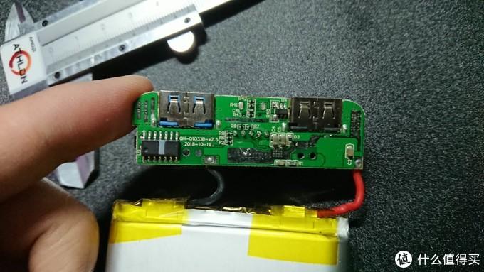 这个芯片没有打标,且元件极少