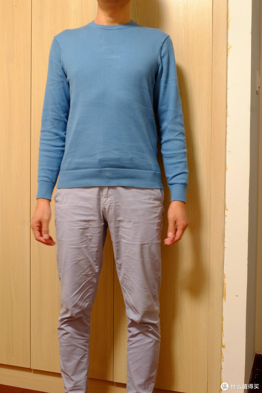 衣服反季购买更划算:四件优衣库和班尼路圆领针织衫