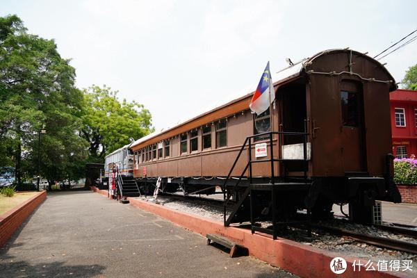 旧火车。。。马六甲的州旗