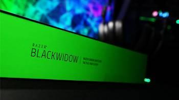 雷蛇黑寡妇蜘蛛键盘开箱介绍(包装|线材|防尘罩|按键|接口)