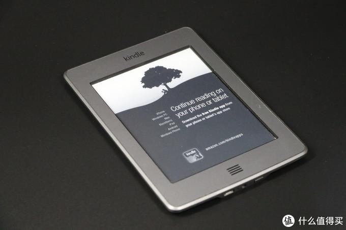 这一款Kindle很有特色,还支持有声电子书