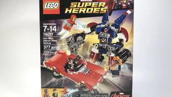 乐高 漫威超级英雄系列 76077 钢铁侠外观展示(零件|人仔|手枪)
