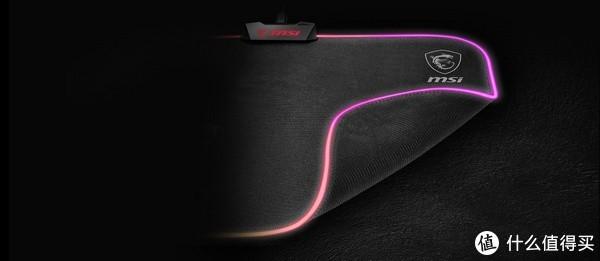 RGB幻彩灯效:msi 微星 发布 Agility GD60 RGB 幻彩 游戏鼠标垫