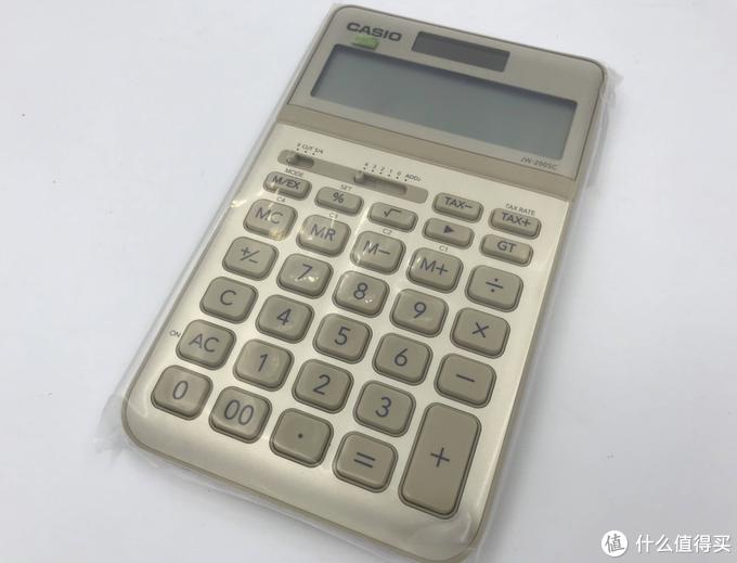 计算器大乱斗-卡西欧 STYLISH商务办公计算器众测体验