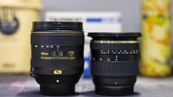 腾龙SP 11 18 mm F4.5~5.6 镜头开箱展示(优点|缺点|视野|画面)