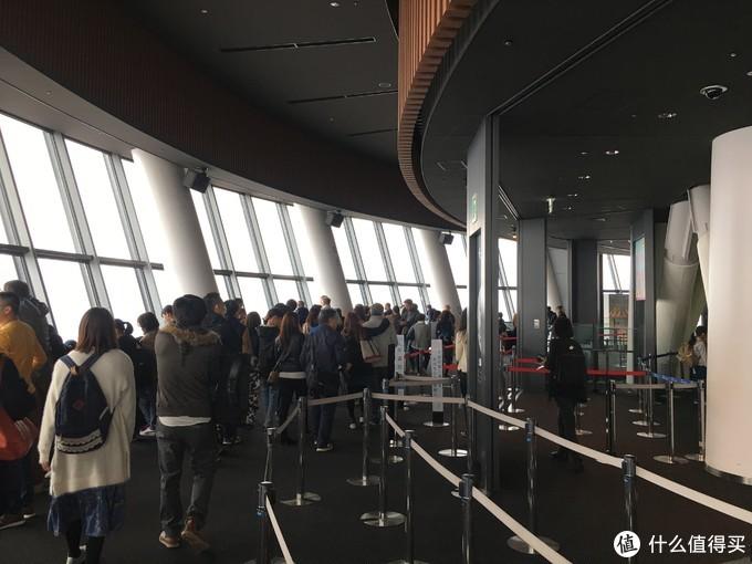 由于是现场排队以为会比旅游平台上便宜,350米观景台的门票2060日元,搜了下飞猪的代订票价最便宜才109
