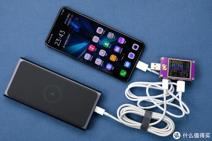小米无线充电宝 10000mAh,到底好不好用?详细充电数据告诉你真相!
