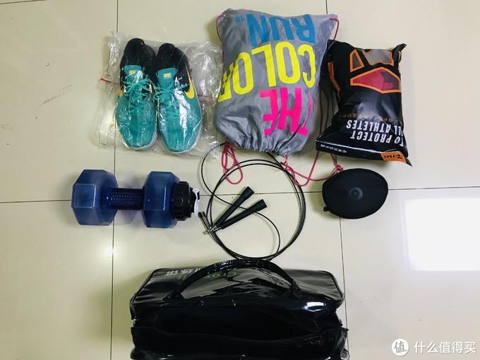 一个每天健身撸铁的EDC,恨不得把家都放包里!