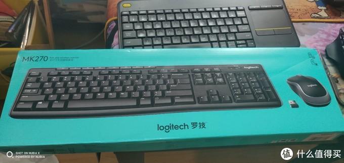罗技(Logitech)MK270 无线光电键鼠套装开箱之办公日常好划算