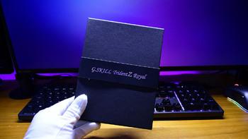芝奇 Trident Z Royal 皇家戟 DDR4 台式机内存外观展示(缺口|镜面|导光条|材质)