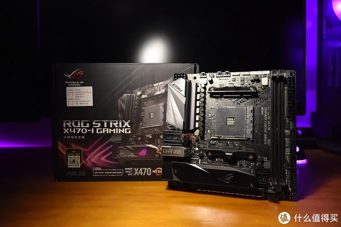 👆Rog Strix X470-i Gaming主板