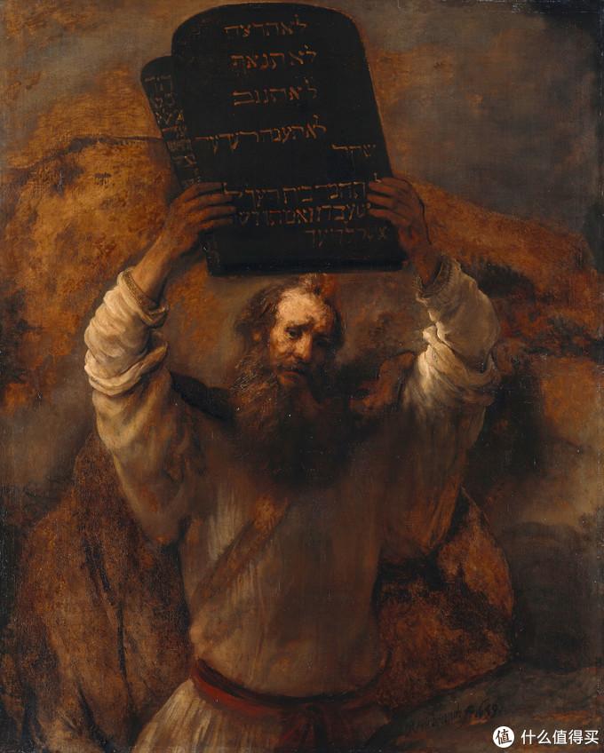 摩西与他著名的《十诫》