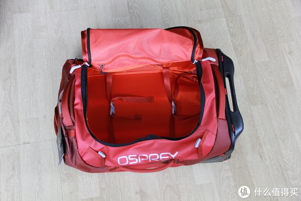 osprey登机箱之OSPREY Rolling Transporter转运者40与OSPREY Ozone 纯氧42