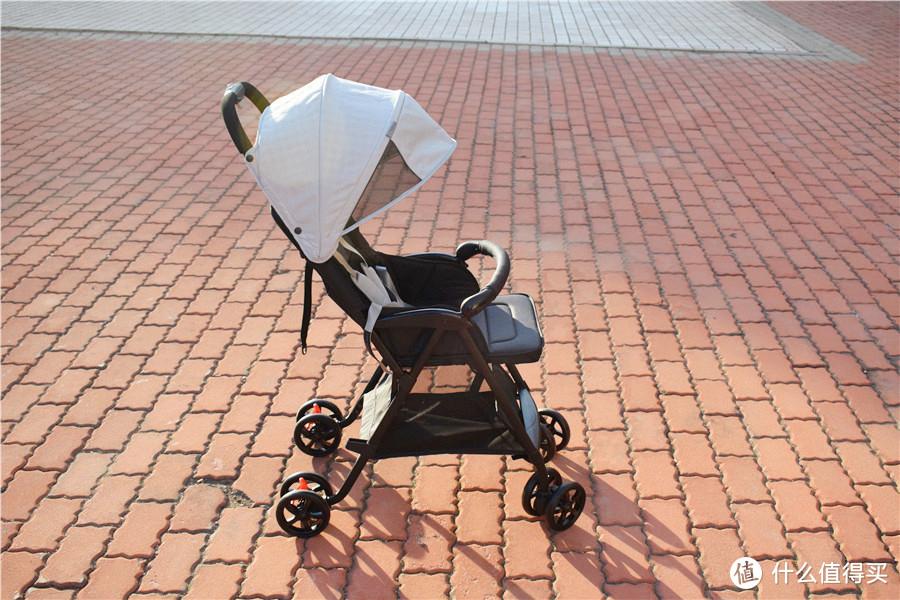 单手掌控,轻松出行—MIBABE 轻便折叠婴儿推车实际体验