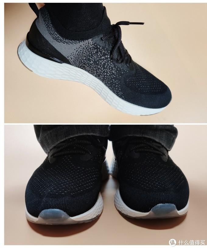 天越COOLMAX飞织跑鞋,享受赤足运动的乐趣
