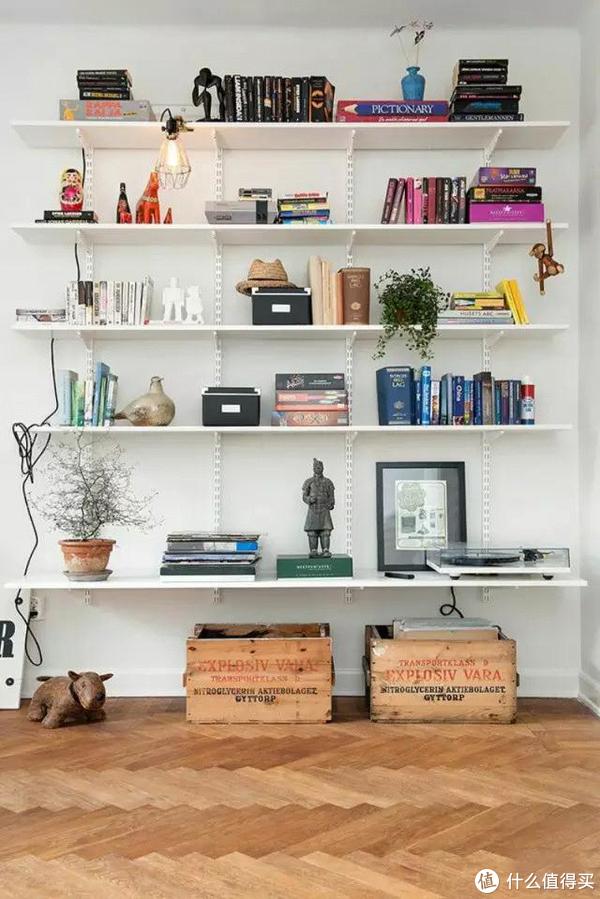 好看耐用的书架怎么打造!