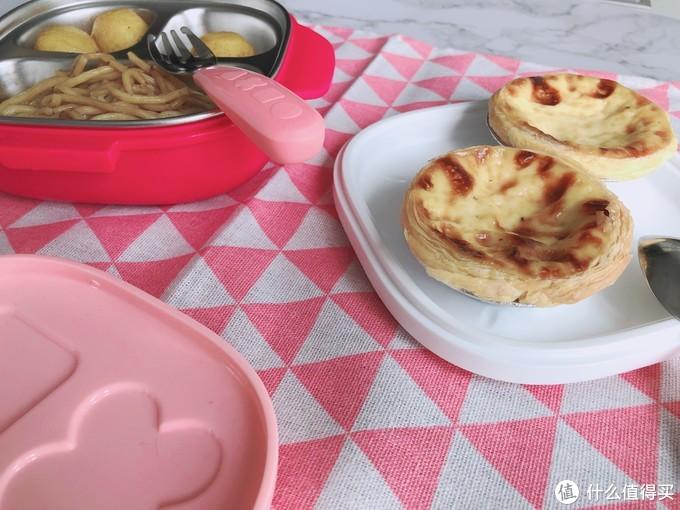 超棒的儿童饭盒,不仅小巧便携自带叉勺还具有保温功能
