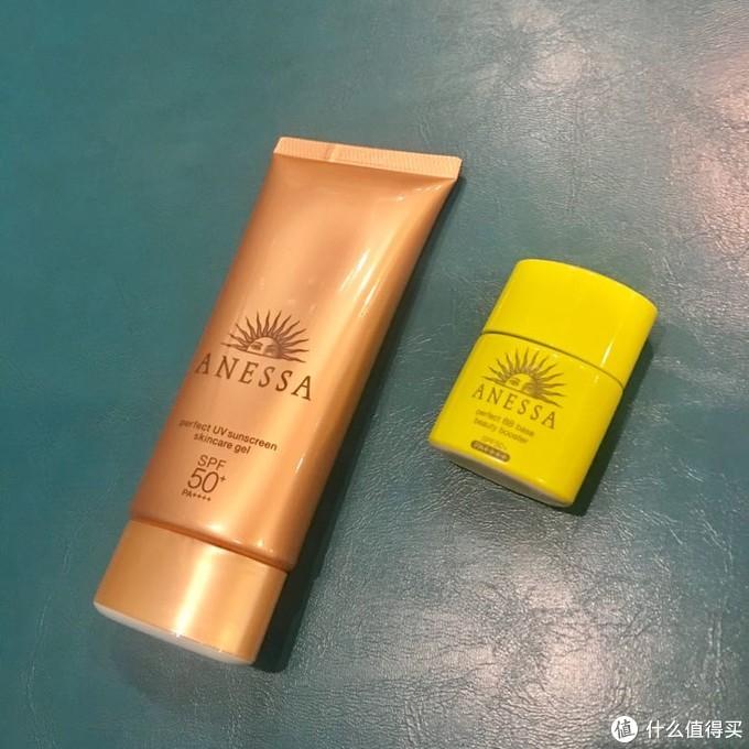 资生堂安热沙ANESSA安耐晒小金瓶、小金管、绿瓶防晒霜BB霜对比介绍