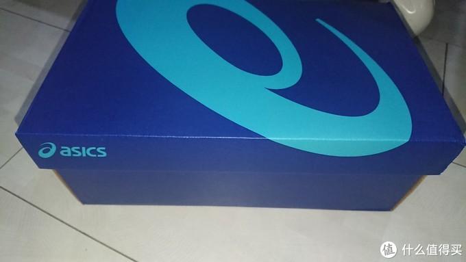 亚瑟士经典蓝盒