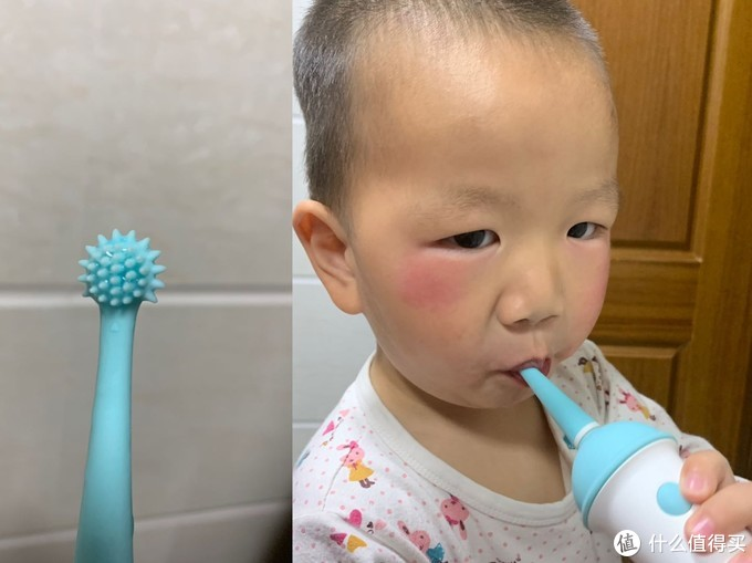 usmile Q1 冰淇淋儿童专业分段护理电动牙刷 --俩萌娃体验测评