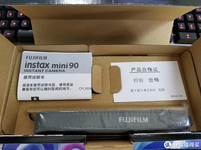 为圆梦开箱 instax mini 90 NEO CLASSIC开箱