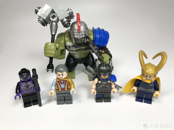 美亚入乐高:乐高 漫威超级英雄 76088 雷神大战绿巨人