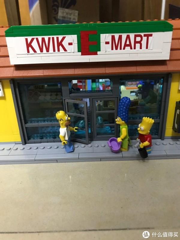 乐高辛普森系列—辛普森一家超市71016