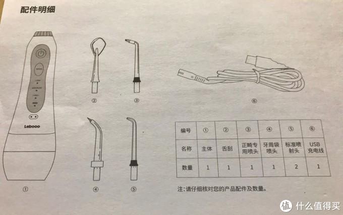 力博得LBE0010冲牙器简易开箱