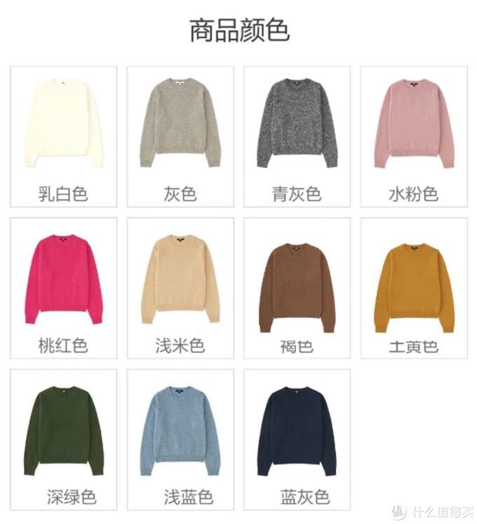 整理衣服才发现不得不分享—优衣库柔软羊仔毛圆领针织衫409953