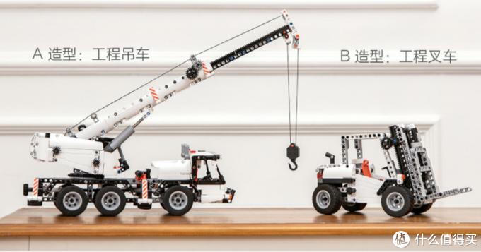 借大妈特殊优惠,体验国产正版原创积木——米兔工程吊车入手!