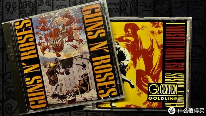 最爱的Guns N'Roses 的EP和幻想专辑
