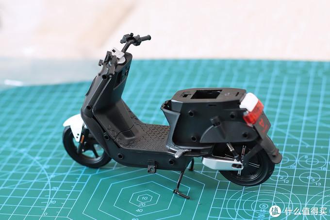 致敬经典设计,小牛电动踏板车N1S模型晒单