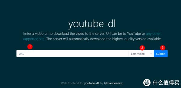 youtube-dl的网页版界面,走到这一步,才算能正常使用啦
