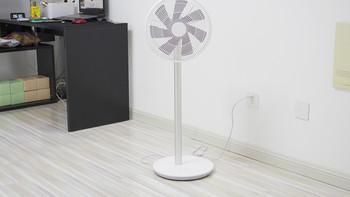 小米 智米 直流变频落地扇电风扇外观展示(支撑杆|安装|扇叶|重量)