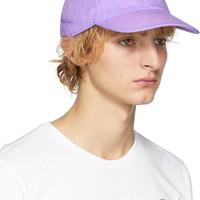 ERL: Purple Nike Edition Witch Six-Panel Cap   SSENSE