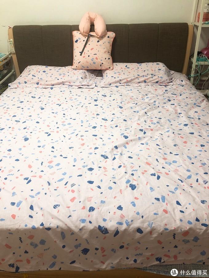 春风十里,不如睡你-淘宝心选 梦乐园系列 四件套、抱枕和U型枕众测体验