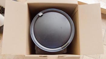 优百纳 感应智能垃圾桶 盈月 海洋蓝 9L外观展示(配色 圆柱体 机身 说明书 电池)