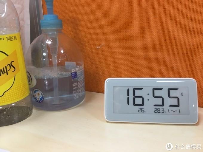 米家温湿检测电子表入手简单体验