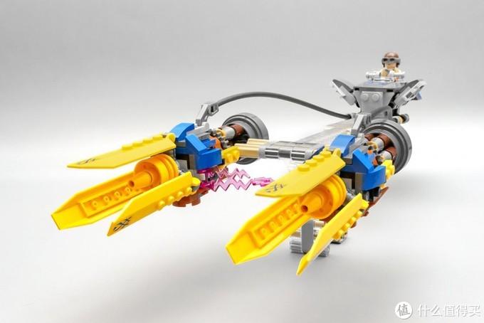 急速飞行发动机:乐高星球大战系列 75258 安纳金的飞梭赛车(20周年纪念版)