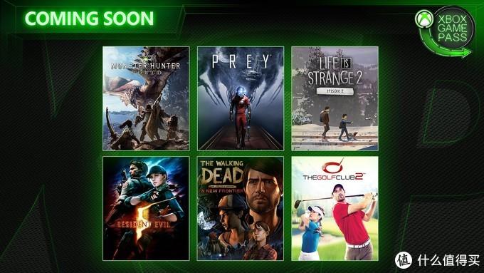 重返游戏:XGP四月游戏,怪物猎人世界、掠食、奇异人生均入库